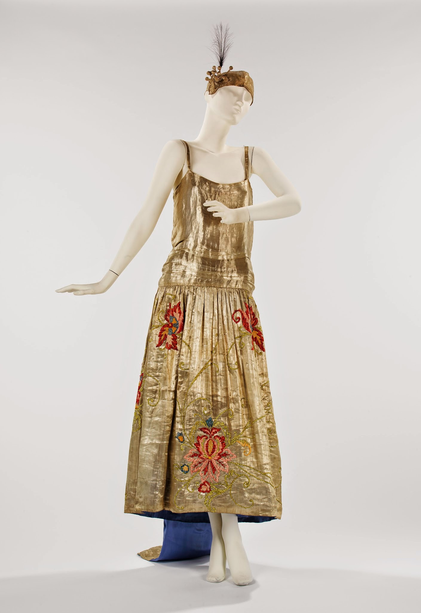 Jeanne Lanvin (French, 1867-1946) Evening dress, summer 1923