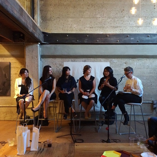 A panel of female industrial designers discuss the state of the industry at Astro Studio.